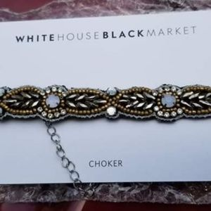 WHBM Choker Necklace NWT